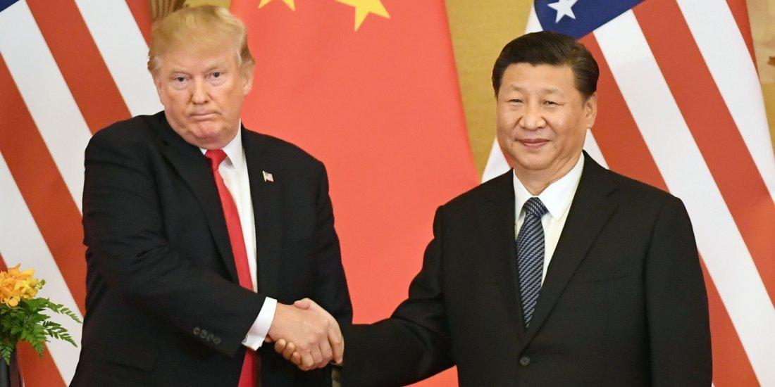 Američki predsjednik Donald Trump s kineskim kolegom Xi Jinpingom 4197b19007dea