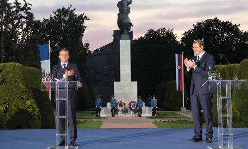 Macron: Francuska neće zaboraviti prolivenu krv srpskih sinova i kćeri...