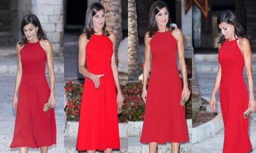 Neodoljiva u crvenom: Kraljica Letizia privlačila poglede u savršenoj ljetnoj haljini