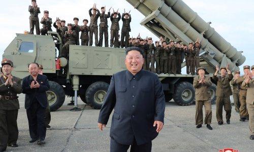 Kim nadgledao testiranje 'super-velikog' raketnog bacača