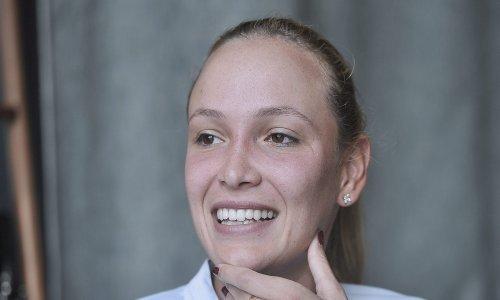 Osjeća se odlično: Donna Vekić ponovo u svom najdražem kraju