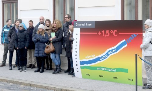 'Apel za klimatsku akciju' Vladi predalo i potpisalo 550 znanstvenika