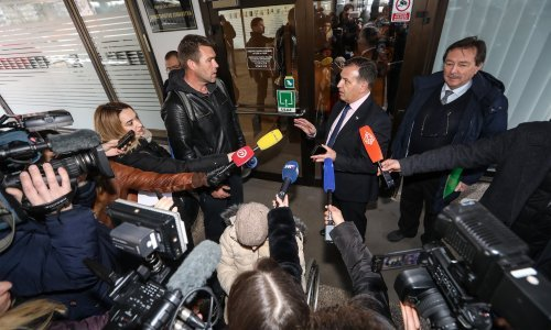 [VIDEO] Ivo Matičević dva tjedna hodao od Metkovića do Zagreba; primio ga Beroš