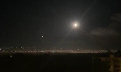 Sirijska obrana presrela rakete iznad Damaska