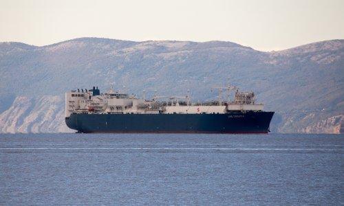 Brod LNG Croatia isplovio za Španjolsku po ukapljeni prirodni plin za probni rad