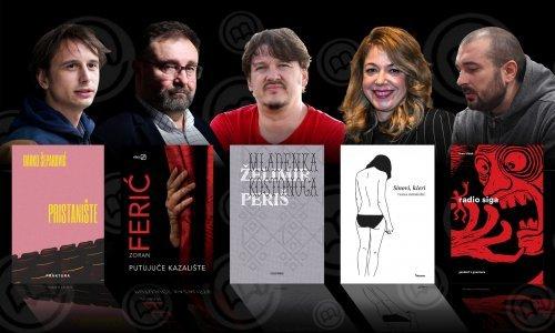 [VIDEO] Netko od njih odnijet će nagradu za najbolji hrvatski roman: Što kažu o ulasku u finale?