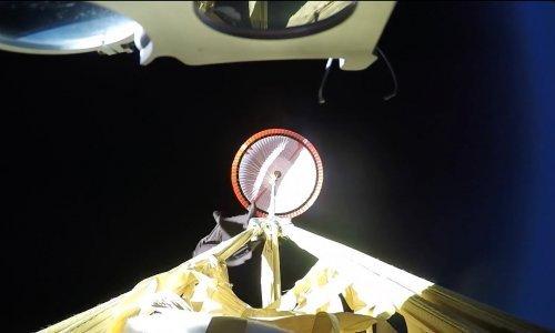 Pogledajte supersonični NASA-in padobran za let na Mars