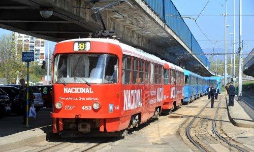 ZET zbog praznika mijenja raspored vožnje tramvaja i