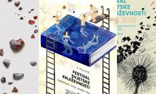 Odabrani najbolji plakati za Festival svjetske književnosti
