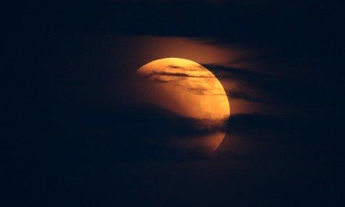 Potpuna pomrčina Mjeseca u ponedjeljak u zoru