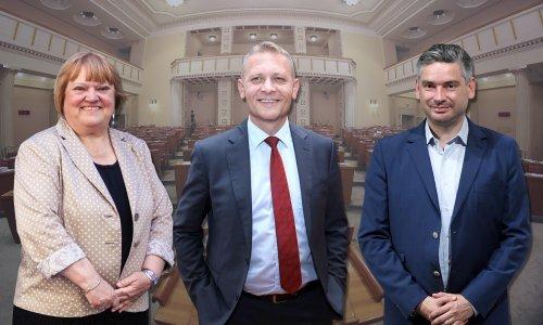 IDS na EU izbore u koaliciji s GLAS-om i HSS-om, Miletića će u Saboru zamijeniti Emil Daus