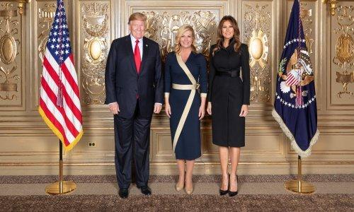 Modni dvoboj predsjednica RH i Melania Trump