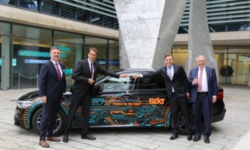 Tvrtke Sixt rent a car i Siemens obnavljaju suradnju