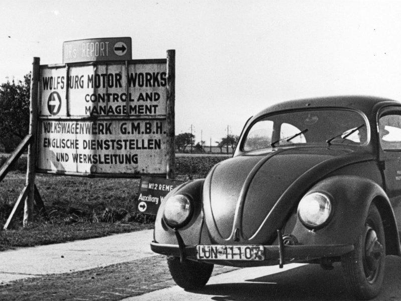 Prva VW Buba koja je sišla s proizvodne trake