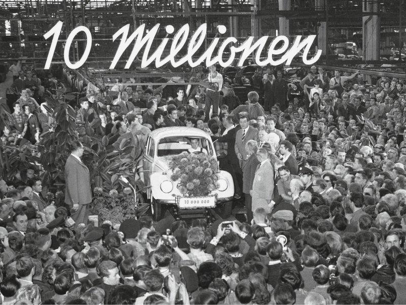 10-milijunta VW Buba