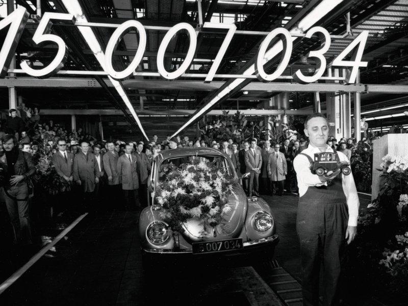 VW 'Weltmeister' model