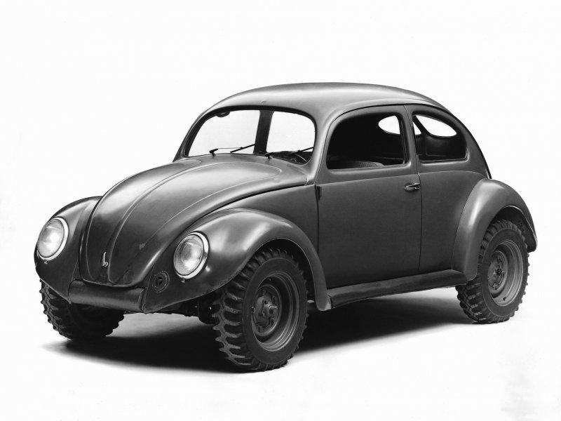 Zapovjedno VW vozilo iz 1946. za britansku vojsku