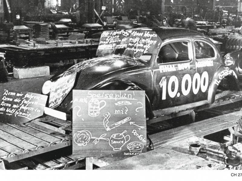 10.000 VW Buba je proizvedeno 1946.