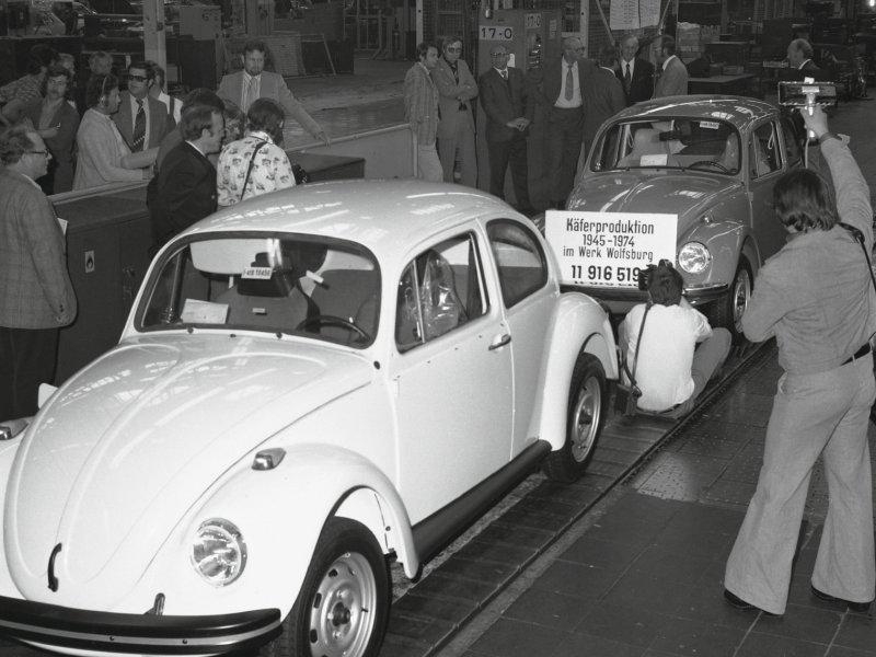 Posljednja VW Buba iz Wolfsburga (1974.)