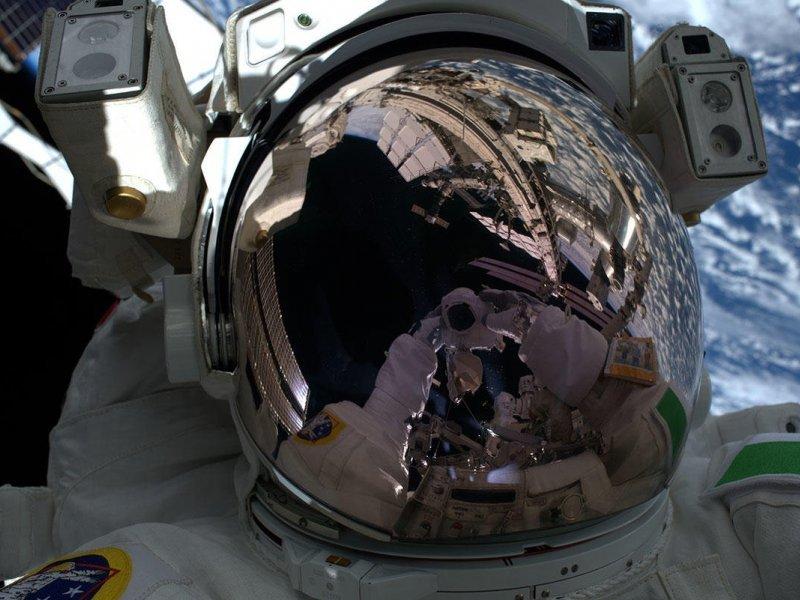 Selfie na svemirskoj stanici