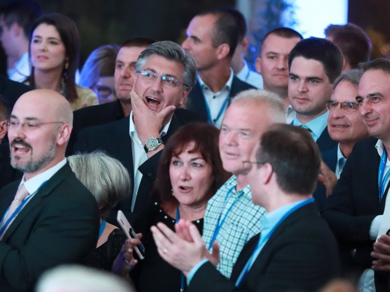 Plenković o slavlju poslije izbora, tome što je HDZ-u donijelo ...