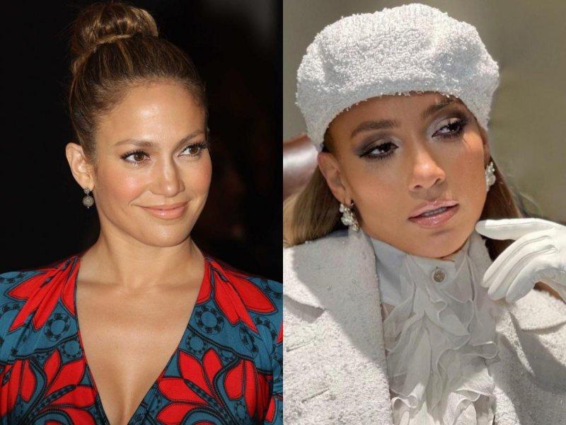 Jennifer Lopez 2010. i 2021.