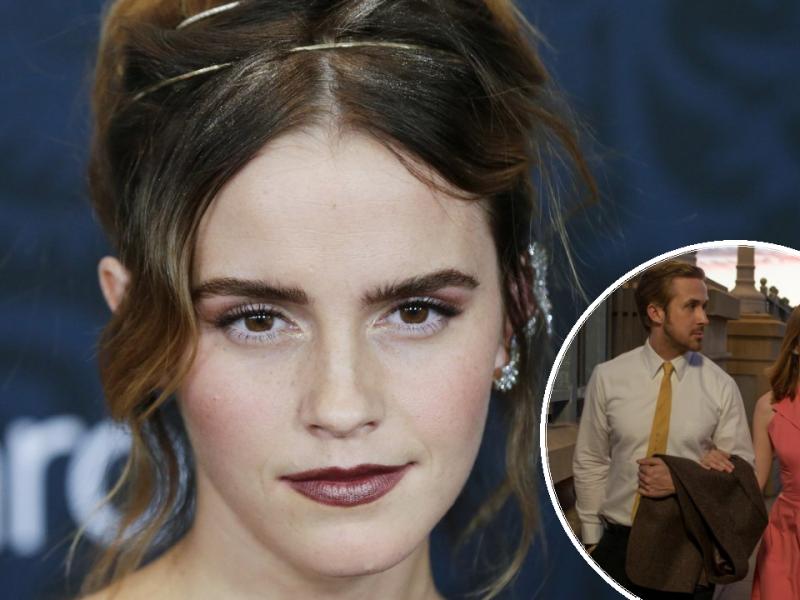 Emma Watson; Emma Stone i Ryan Gosling u 'La La Landu'