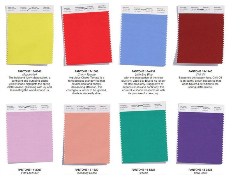 tvrtka pantone najavila 39 in 39 boje za prolje e 2018 tportal. Black Bedroom Furniture Sets. Home Design Ideas