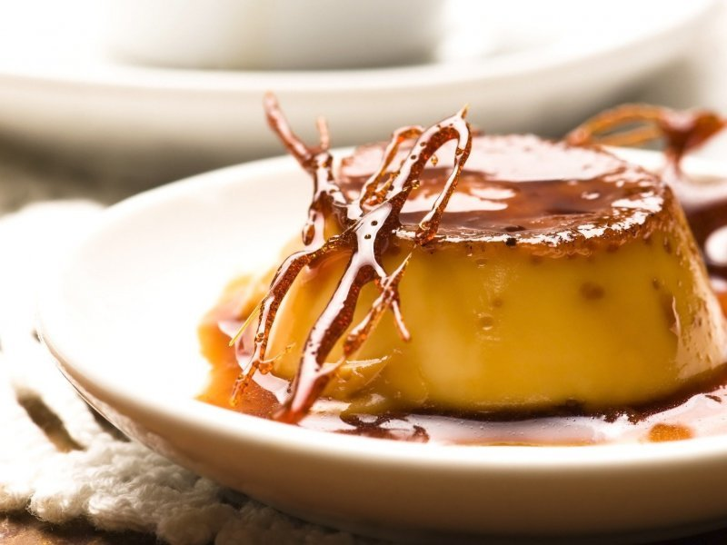 rožata, flan, creme caramel, traditional, Dalmatian, dessert, dish, historical, www.zadarvillas.com