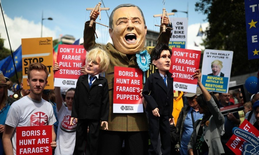 'NE BORISU, DA EUROPI!' U Londonu prosvjedi proeuropski orijentiranih Britanaca, Johnsonu poslali jasnu poruku