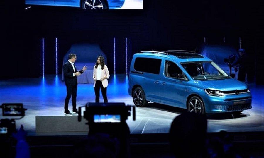Potpuno novi VW Caddy 5. generacije je imao svoju svjetsku premijeru u njemačkom Düsseldorfu