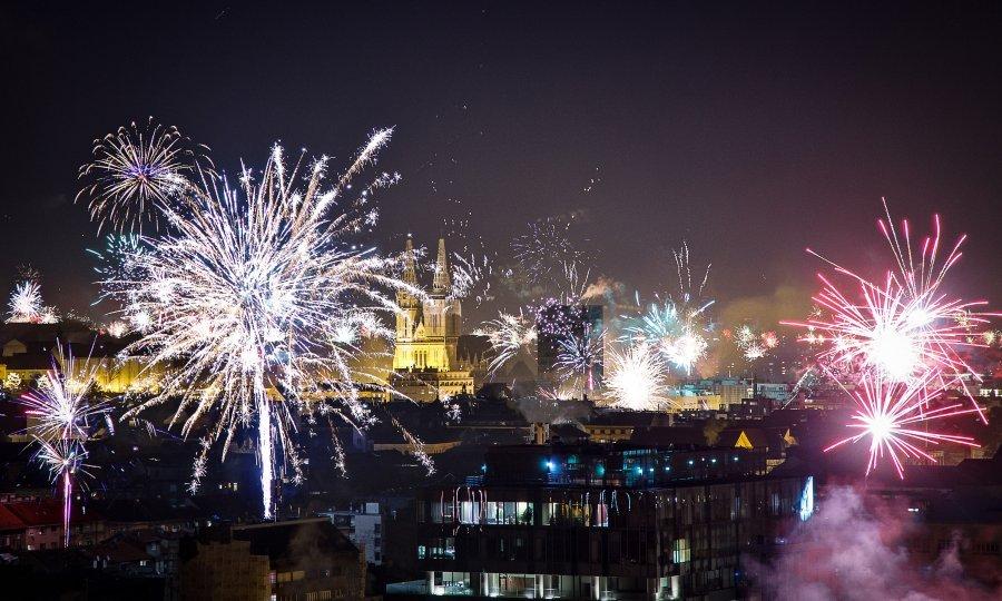 Novogodišnja noć u Zagrebu prošla relativno mirno - tportal