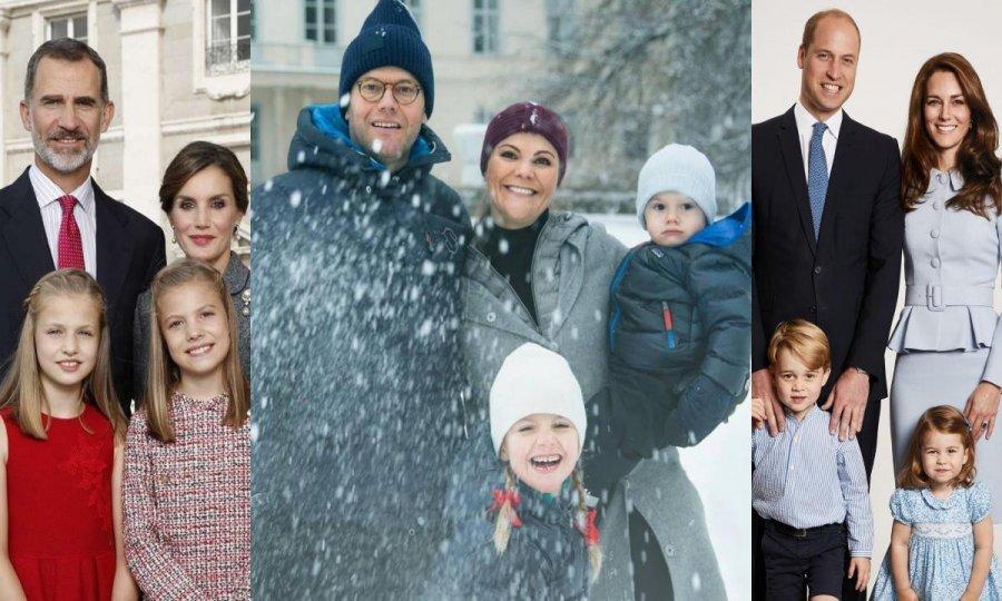 božićne čestitke za obitelj Ova je kraljevska obitelj božićnom čestitkom nadmašila sve ostale  božićne čestitke za obitelj