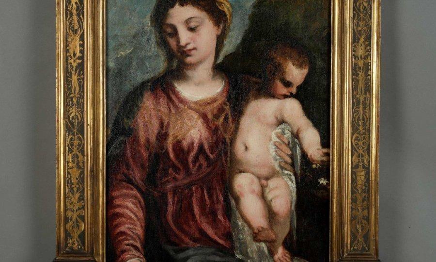 Medulicevo Remek Djelo Bogorodica S Djetetom Nova Je Slika U Muo