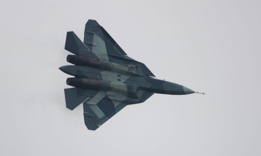 Premijera Su-57 u Moskvi 2013. godine