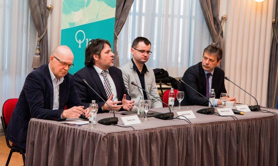 Zoran Low, Velimir Šonje, Rafael Jurčević i Davor Huić