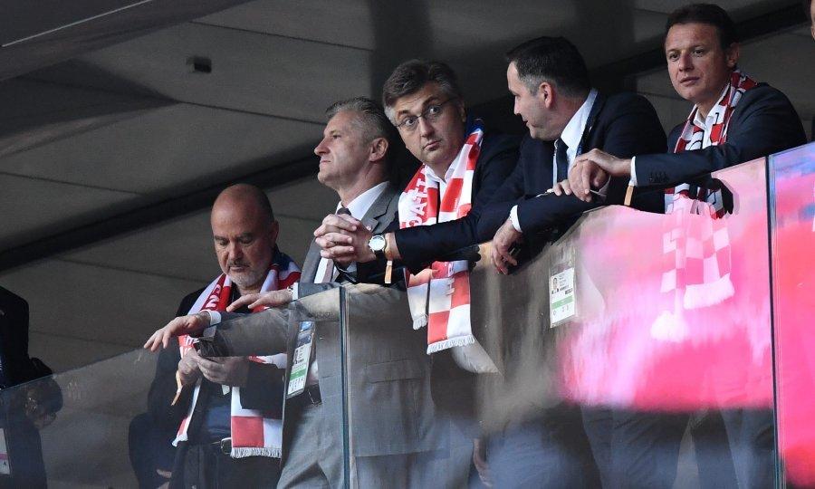 Image result for plenković rusija utakmica