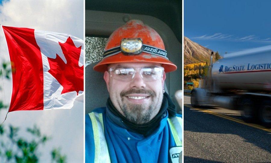 kamion+kanada