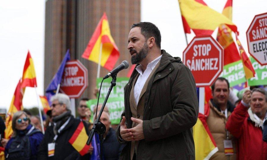 Predsjednik desničarske stranke Vox Santiago Abascal