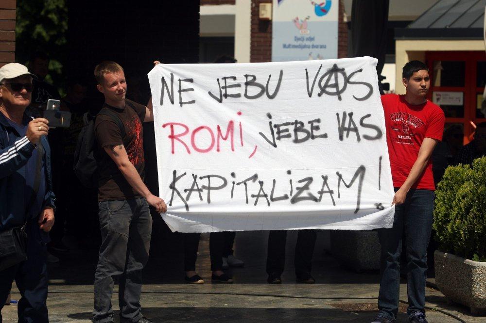 Prosvjed protiv Roma u Čakovcu