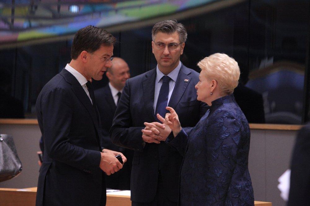 Andrej Plenković na sjednici Europskog Vijeća - ilustracija