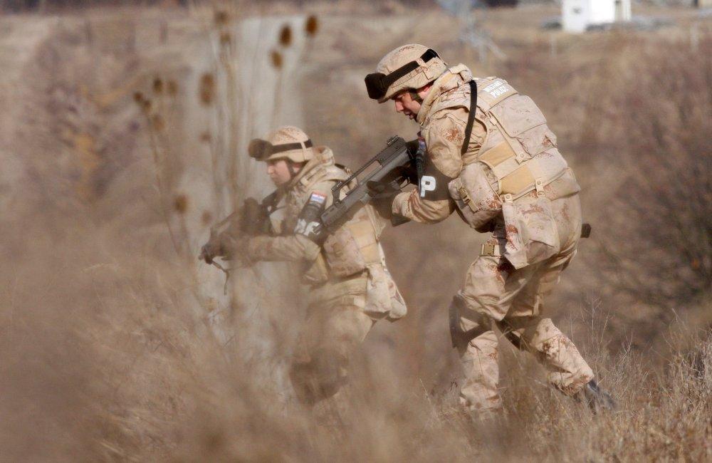 Izlazeći u vojsku