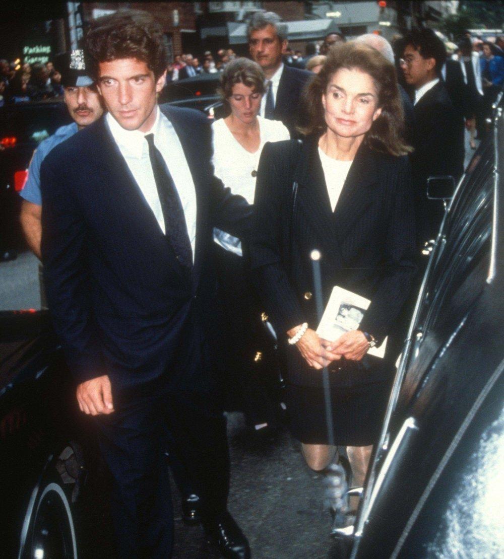 John F. Kennedy Jr. i Jacqueline Kennedy Onassis