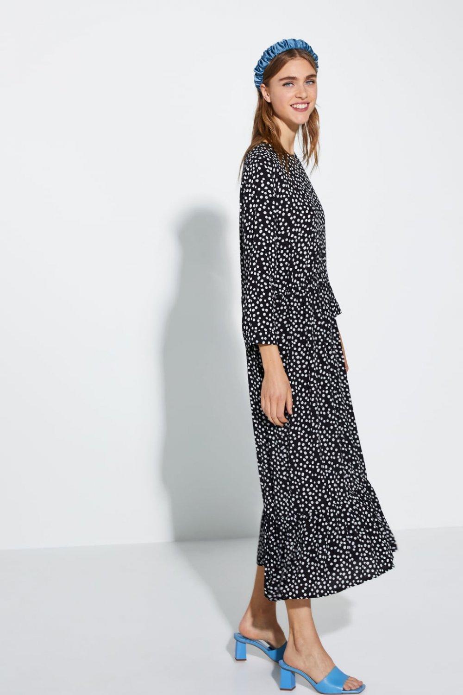 Zarina haljina s točkastim uzorkom
