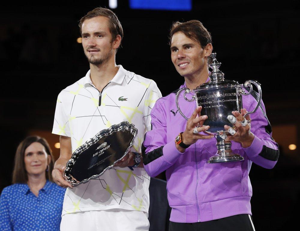 Rafael Nadal i Daniil Medvedev