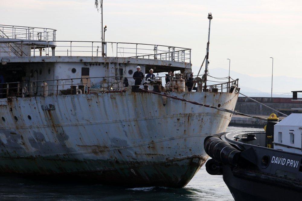 Brod Galeb krenuo prema Kraljevici gdje će biti obnovljen i pretvoren u muzej