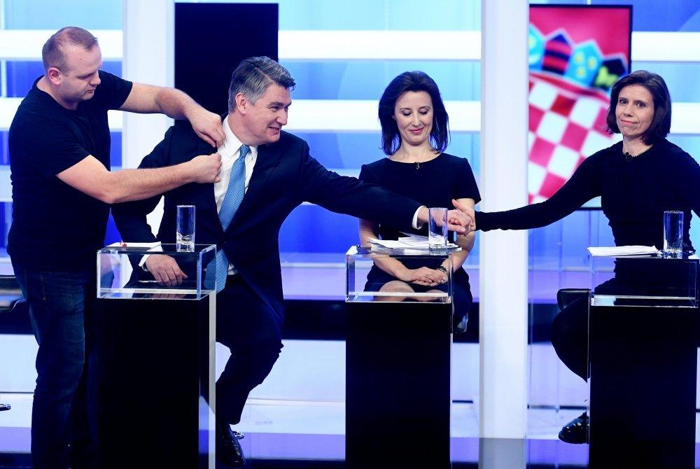 Zoran Milanović, Dalija Orešković, Katarina Peović