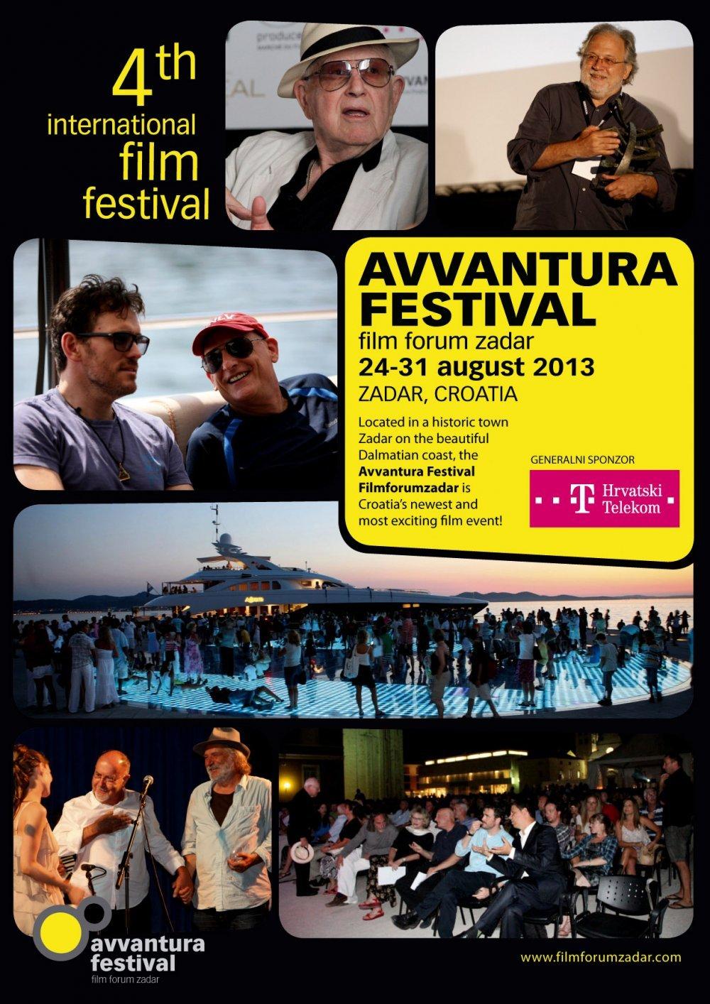 avventura festival film forum zadar