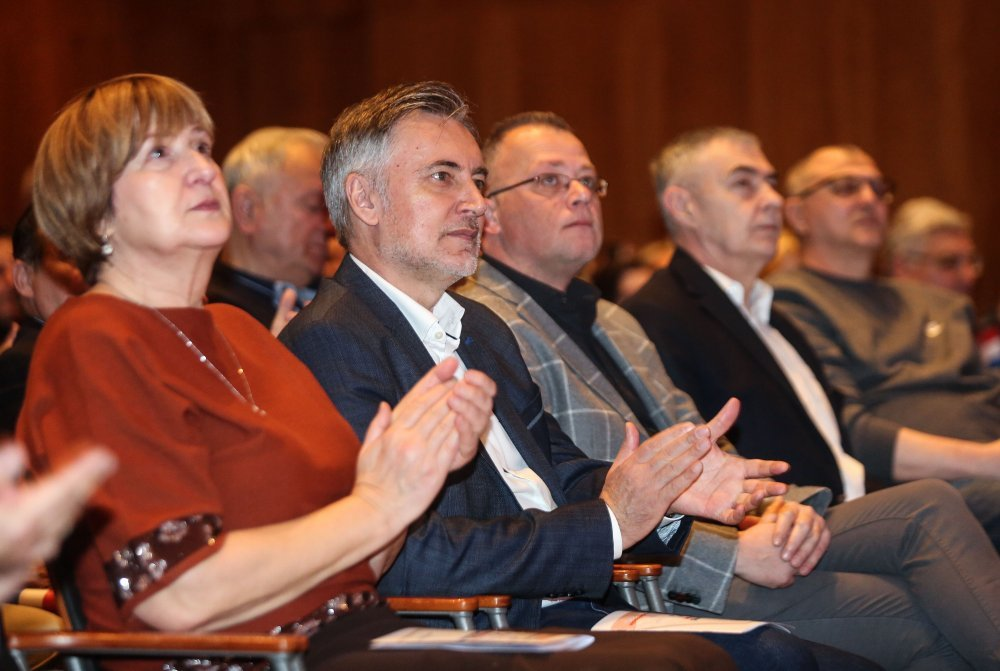 Ruža Tomašić, Miroslav Škoro, Zlatko Hasanbegović, Željko Glasnović