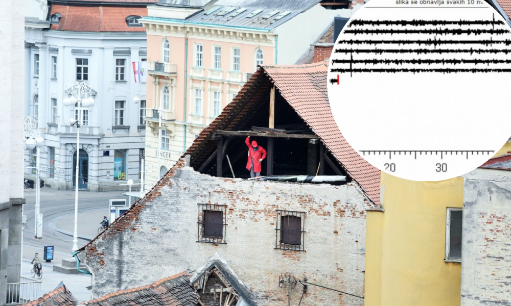 Nova Prilika Za Pracenje Potresa U Zagrebu Građanim Dostupna Crta Seizmograma Tportal